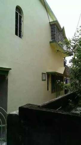 Sale 2 storied house at Simurali, kalyani AIIMS 15min in Bike