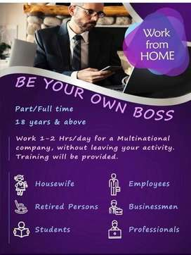 Work From Home / Office / Internet In Pune