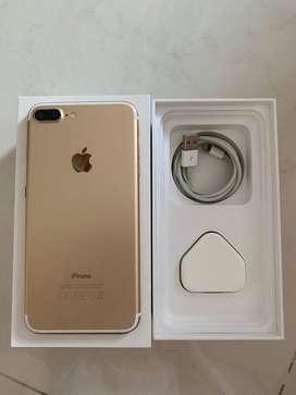 selling brand new i phone 7 plus  white in box 128 gb