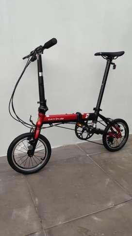 Sepeda Lipat Dahon K3 Merah New!!