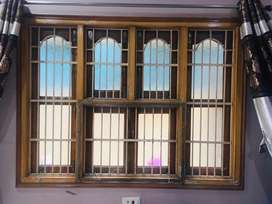 Windows gates with chaukhat and pelmates