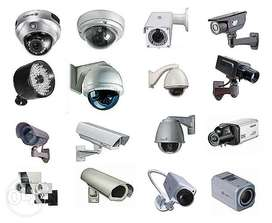 CCTV/Security Cameras With Complete Installations