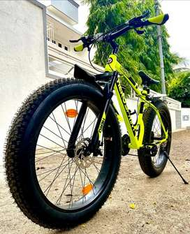 Hero big daddy fat cycle 26 inch tyer size Brand new condition
