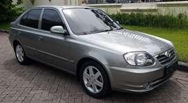 Hyundai avega gx 1.5 mt manual grey sedan m/t super istimewa surabaya