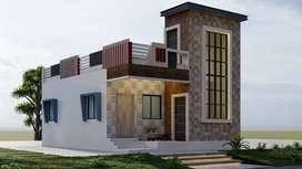 New 2 Bedroom Individual House for Sale at Kattankulathur