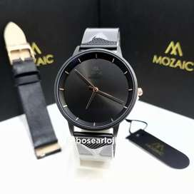 Jam Tangan Mozaic MZ 5005 Black