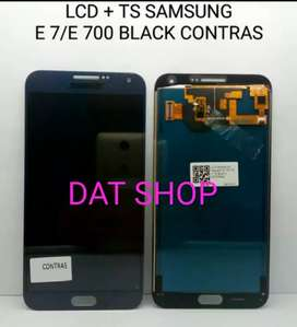 LCD TS SAMSUNG E 7 E 700