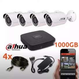 *komplit paket cctv hikvision kamera 1.5 jtaan*