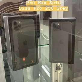 Iphone 11 pro 256gb new 1 tahun  .