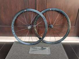 Wheelset Rujixu Black 2021 40mm 5 BEARING 16 Hole JANGKRIK KERAS