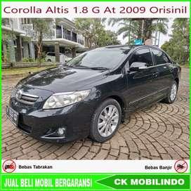 [Dp18jt] Corolla Altis 1.8 G At 2009 Plat H Data Orisinil Kredit Murah