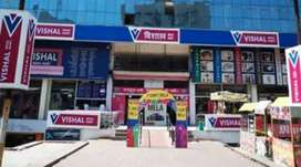 Sale / Biling Full Time Job in Vishal Mega Mart Mall For Boys / Girls