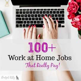 These are work from home data entry jobs available
