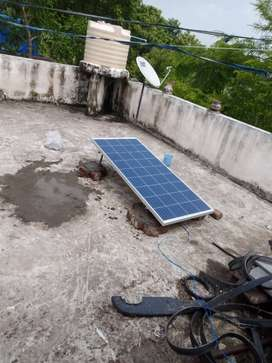 Solar panels for currents