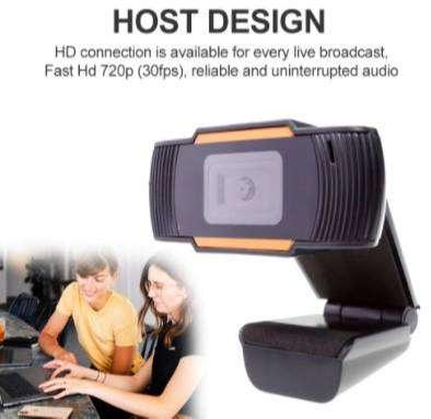 Kamera Camera Webcam Komputer Laptop 720P Autofokus Support Windows