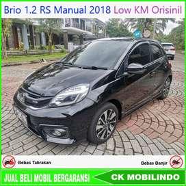 (Dp20jt) Brio 1.2 RS Manual 2018 Low KM Orisinil Bisa Kredit