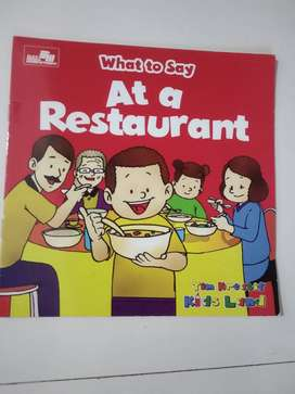 [BOOK SALE] What to Say - At a Restaurant