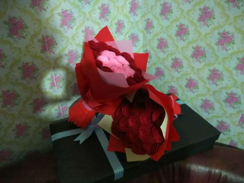 Buket bunga mix 0