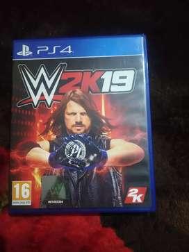 WWE2k19 ps4
