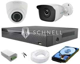Komplit 4 kamera Cctv HD