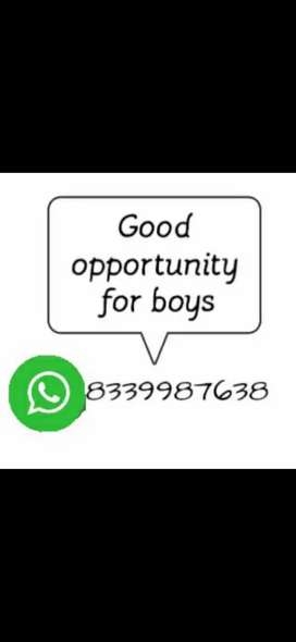 We require boys for part time work