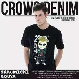 T-Shirt Crows Zero - Harumichi Chibi