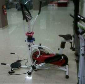Promo murah sepeda statis new orbitrek elit plat