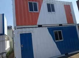 Container Office 20ft dan 40ft Spek Lengkap Siap Pakai
