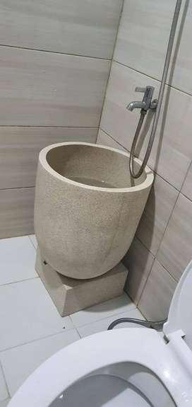 Ready Stok !! Bak mandi bahan Teraso Marmer Tipe Minimalis