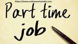 Work Part Time/Full Time at your flexible hours without disturbing you