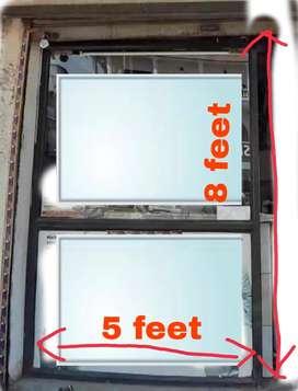 Alluminium frame partition