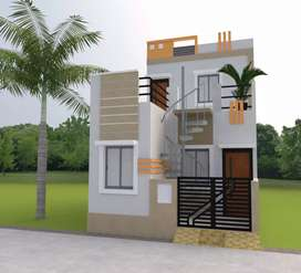 2 BHK Duplex House Only at 17.5 Lakh