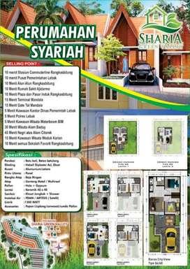 Dijual Murah Rumah Konsep Villa di Shariah Green Valley Rangkasbitung