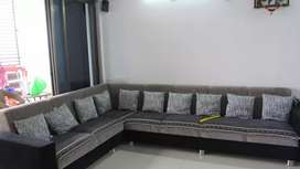 Mentioned Sq.Ft. is minimum. also it is fully furnished