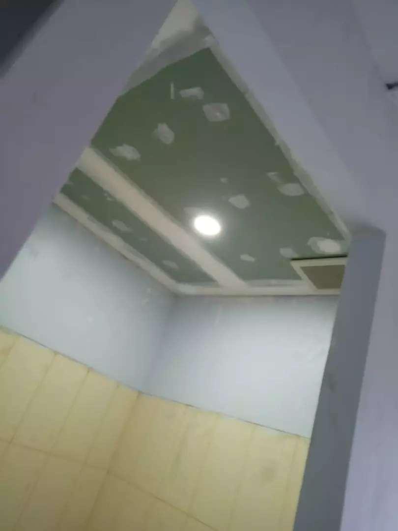 Harga pasang plafon gypsum dan partisi gypsum dan PVC dan GRC