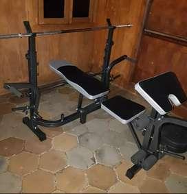 Alat fitness Benchpress baru dan bergaransi