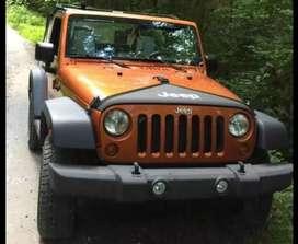 Modified wranglar jeep