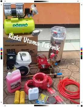 Jual lengkap untuk usaha cuci steam motor+Honda