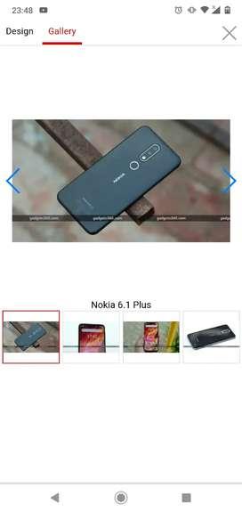 Nokia 6.1plus black