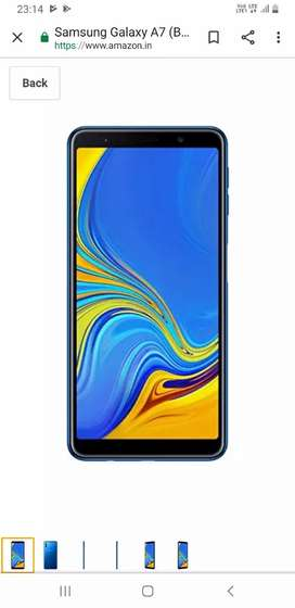 Samsung a7 in excellent condition