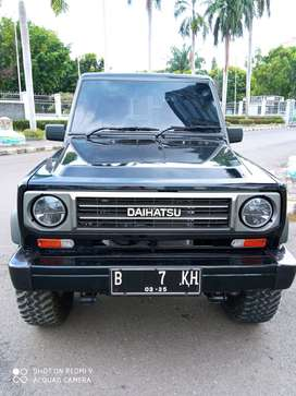 Daihatsu Taft GT 1995 Manual Hitam Body Kaleng Siap Pakai