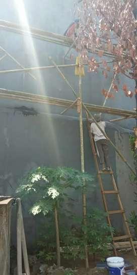 Tukan ahli bocoran atap,renovasi rumah,plafon,cat,keramik,kolam,taman