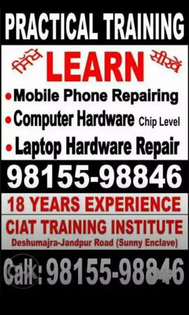Mobile phone repair institute by experts. Training centre