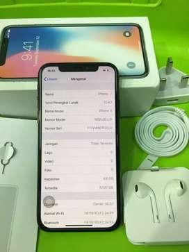 Iphone X 64gb Fullset LTE ,ex inter