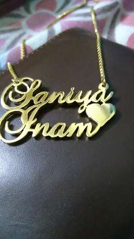 BIG OFFER, NAME JEWELLERY IN 999 ONLY, HURRY UP