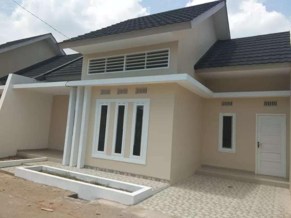 rumah desain modern amerika di palembang