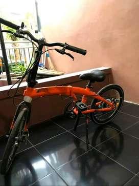 Dijual murah sepeda lipat E-Cosmo 7