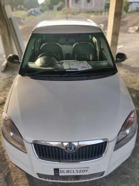 Top Conditioned With Top Mileage  Skoda Fabia For Urgent Sale