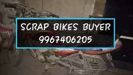 Scrap bikes  and car buyers
