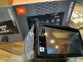 Jbl celebrity 300 double din multimedia player with mirror link .